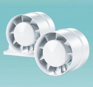 Осевые канальные вентиляторы ВЕНТС 100 ВКО турбо