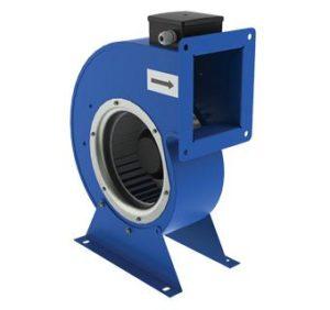 Центробежные вентиляторы одностороннего всасывания в спиральном поворотном корпусе ВЕНТС ВЦУ.