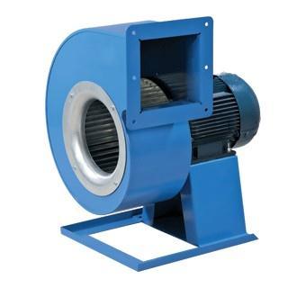 Центробежные вентиляторы одностороннего всасывания в спиральном поворотном корпусе ВЕНТС ВЦУН.